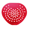 03901 BUBBLEGUM VINYL URINAL SCREEN, CHERRY RED