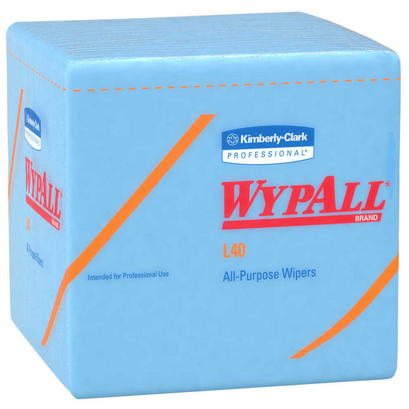 Nexday Supply 05776 12 5x12 Blue Wypall L40 Wipers