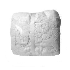 Nexday Supply 1205 T Shirt Rags White Cotton 25 Lb