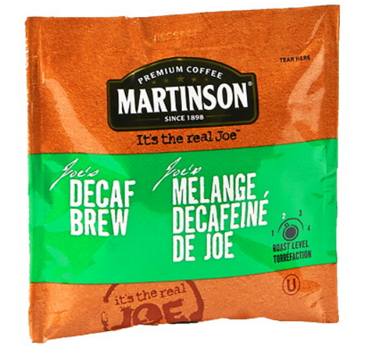 Nexday Supply 4003095 7 5g Martinson Coffee Decaf