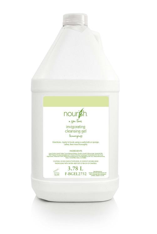Nexday Supply F Bgel2732 Nourish Lemongrass Bath Gel 1