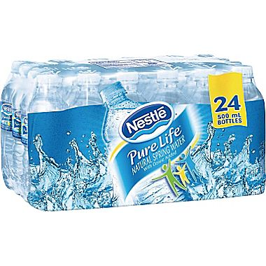 7f8e859c39 NexDay Supply: 12269285 Nestle Pure Life Spring Water, 500ml Bottles