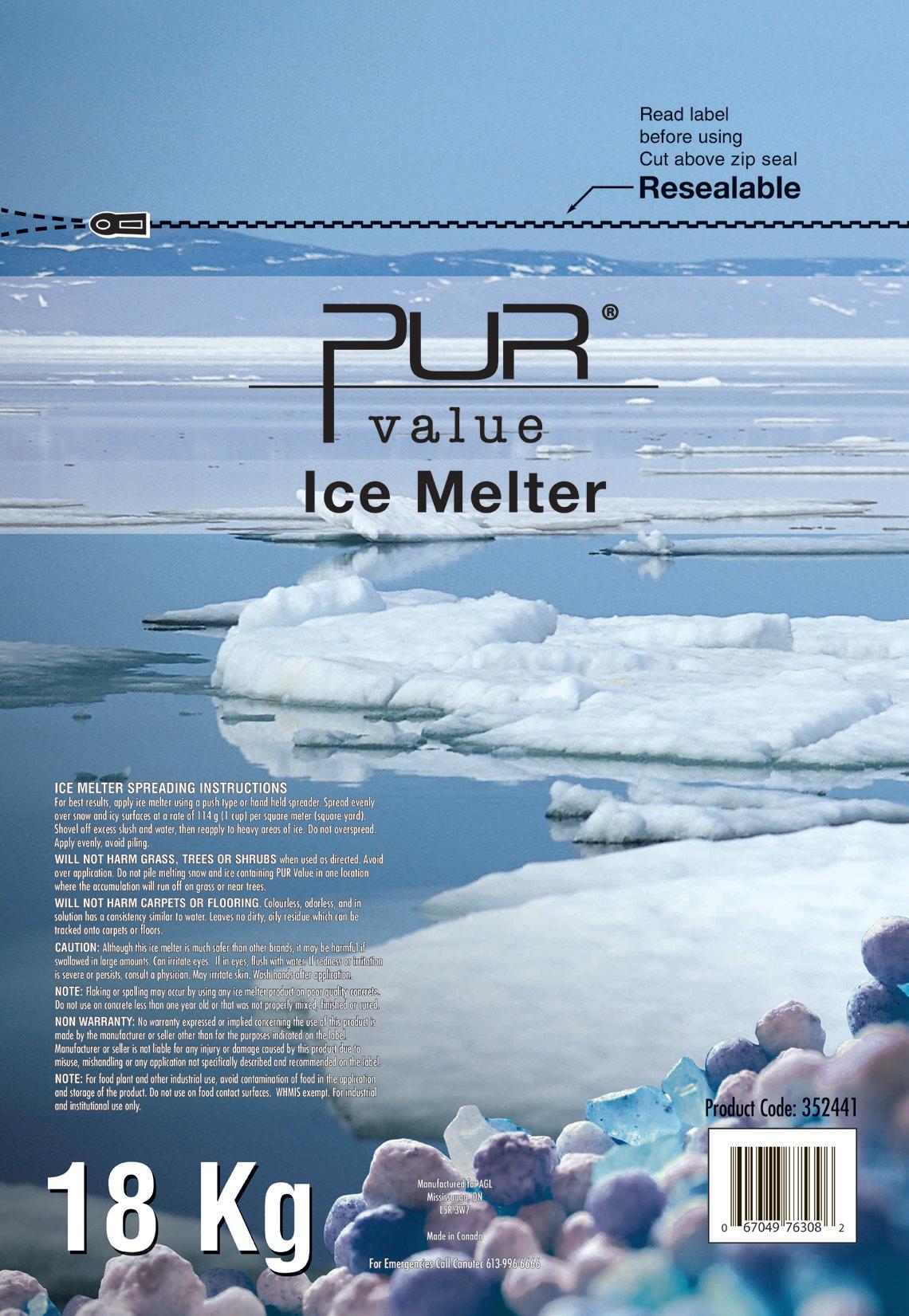 Nexday Supply Pur Value Ice Melter 18kg