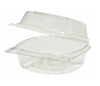 YCI810500000 POLYSTYRENE ONE COMPARTMENT 5 inch HINGED LID CONTAINER